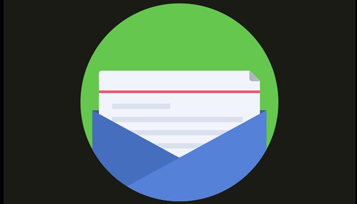 flat envelope icon sketch3