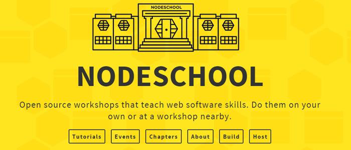 nodejs school online learning site