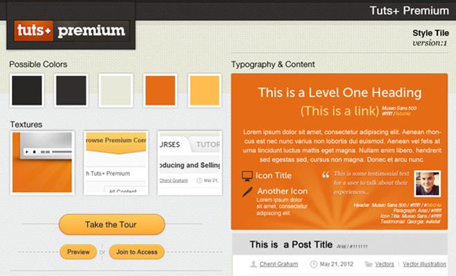 tutsplus premium style tile