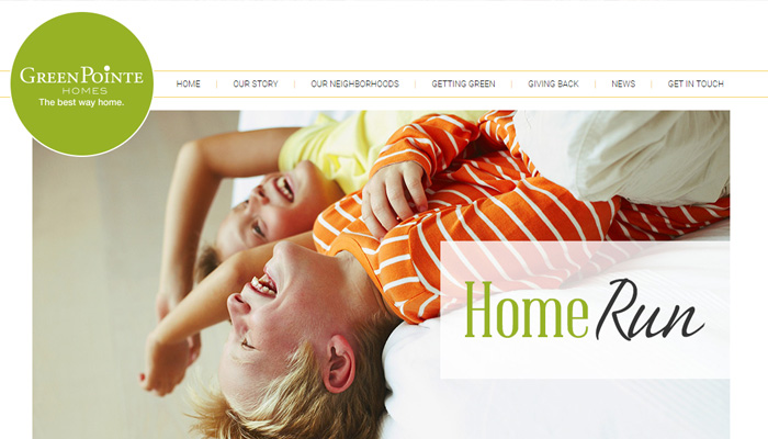 Yeşil pointe evleri web sitesi