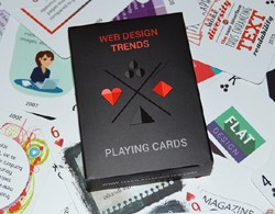 web design trends - playing cards by template monster