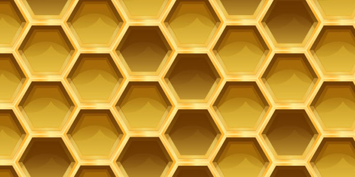 vector honeycomb pattern