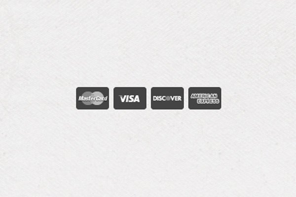 flat dark glyph icons credit cards