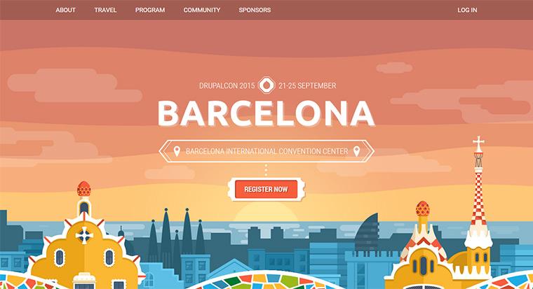 DrupalCon 2015 website