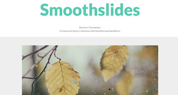 Smoothslides plugin jQuery