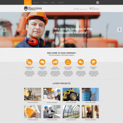 1-construction-psd-template