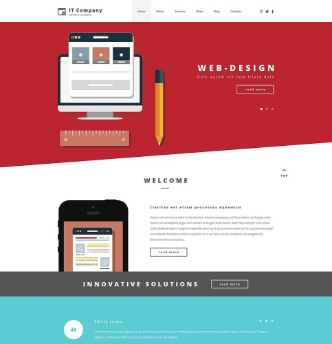 2-it-company-psd-template
