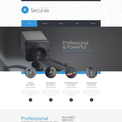 28-security-psd-template