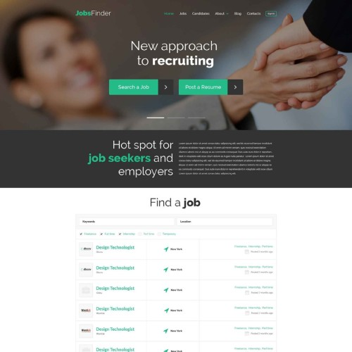 30-recruiting-psd-template