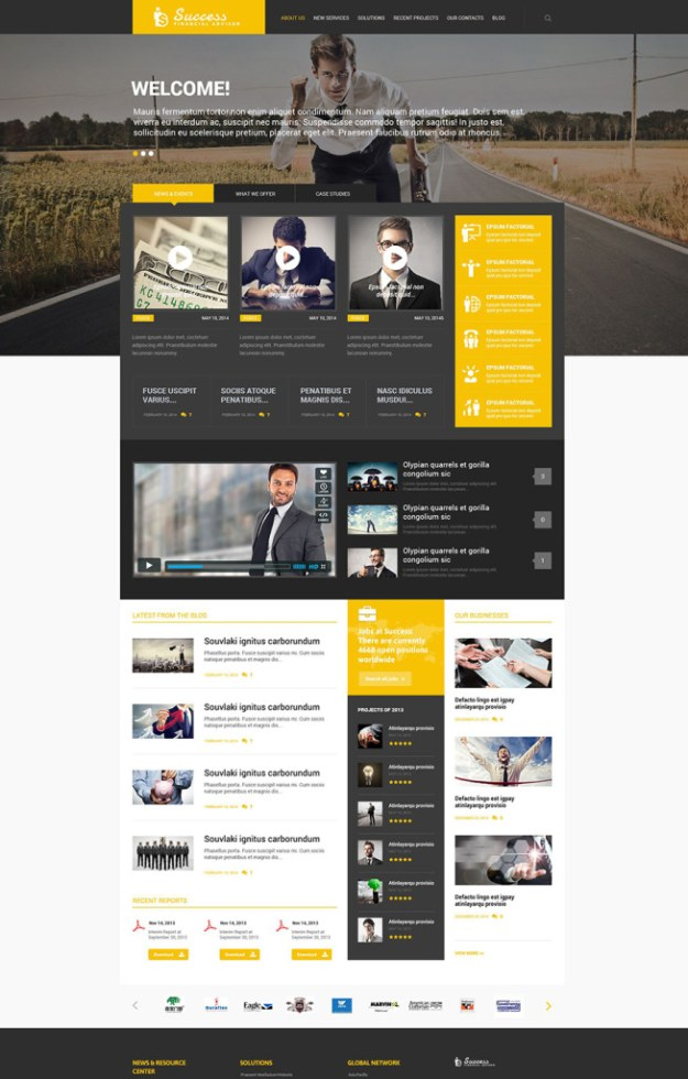 10 business and consulting wordpress theme