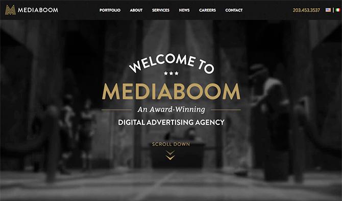 media boom