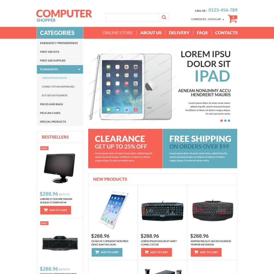 ecommerce store templates