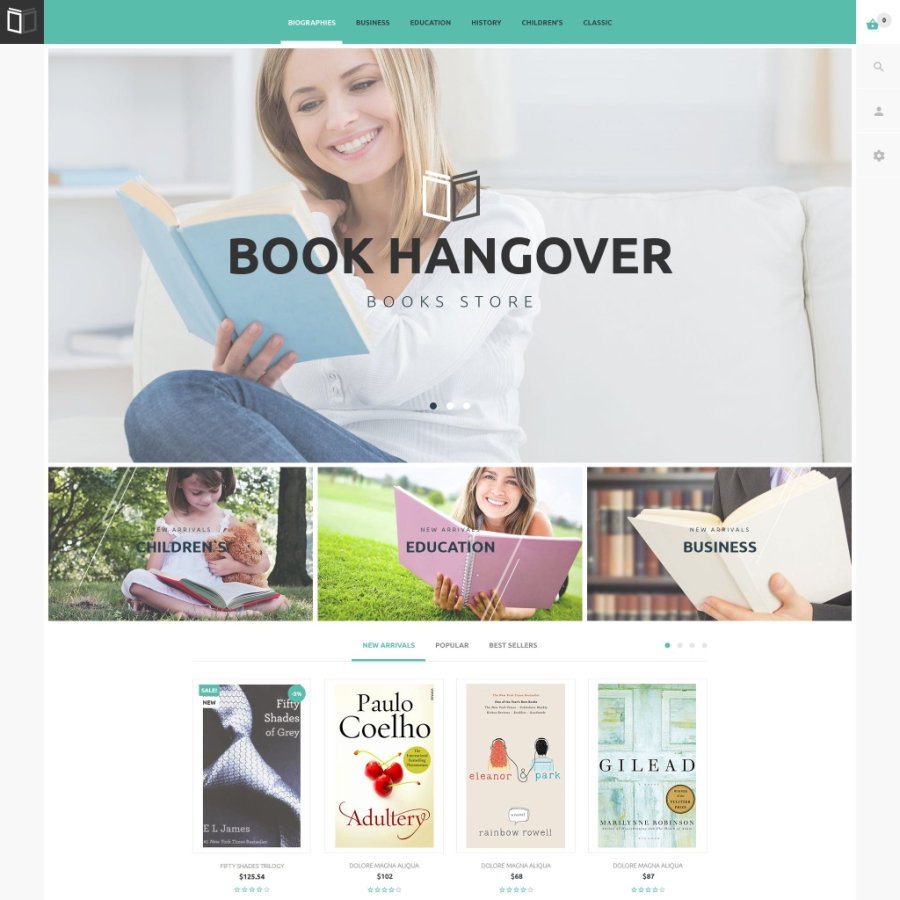 20 of the Best Free Responsive eCommerce Templates for 2016 - Web ...