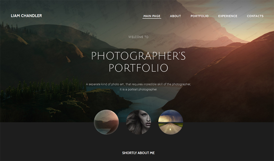 4. photographer-portfolio-website-template