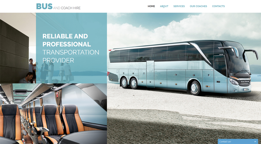 8. bus-coach-hire-website-template