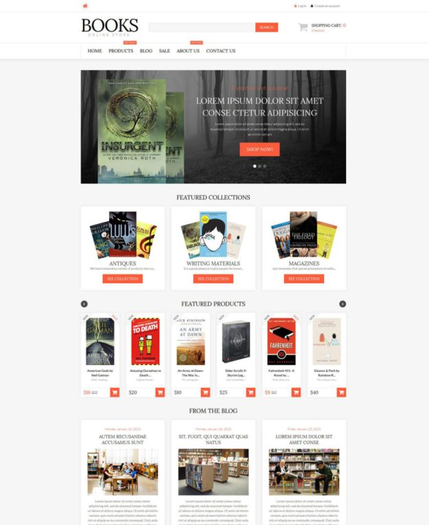 12-literature-lovers shopify theme
