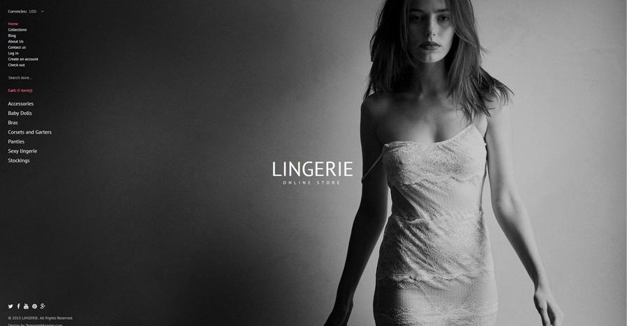19-lingerie shopify theme