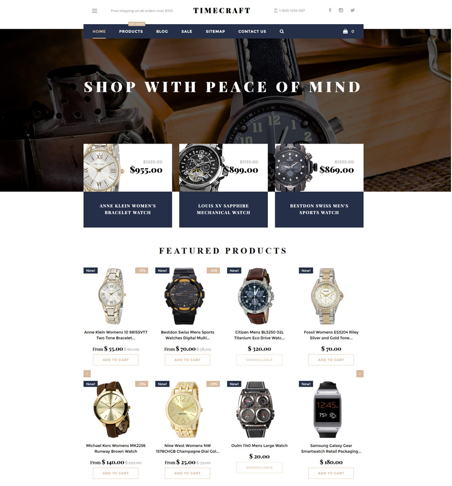 2-time-craft shopify theme