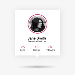 Learn How to Design a Social Profile UI in Adobe Illustrator