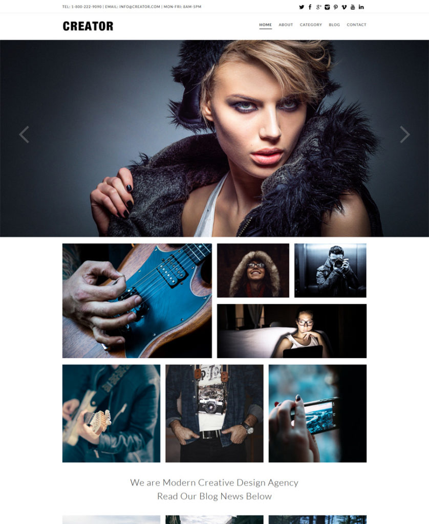 Creator-Responsive-WordPress-Theme
