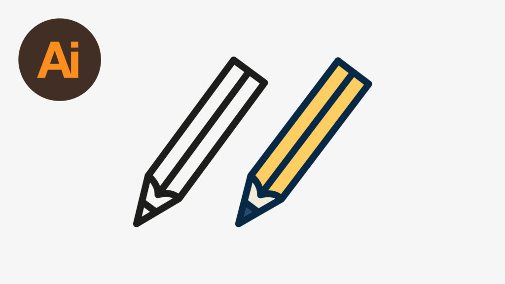 Dansky_Learn How to Draw a Vector Pencil in Adobe Illustrator