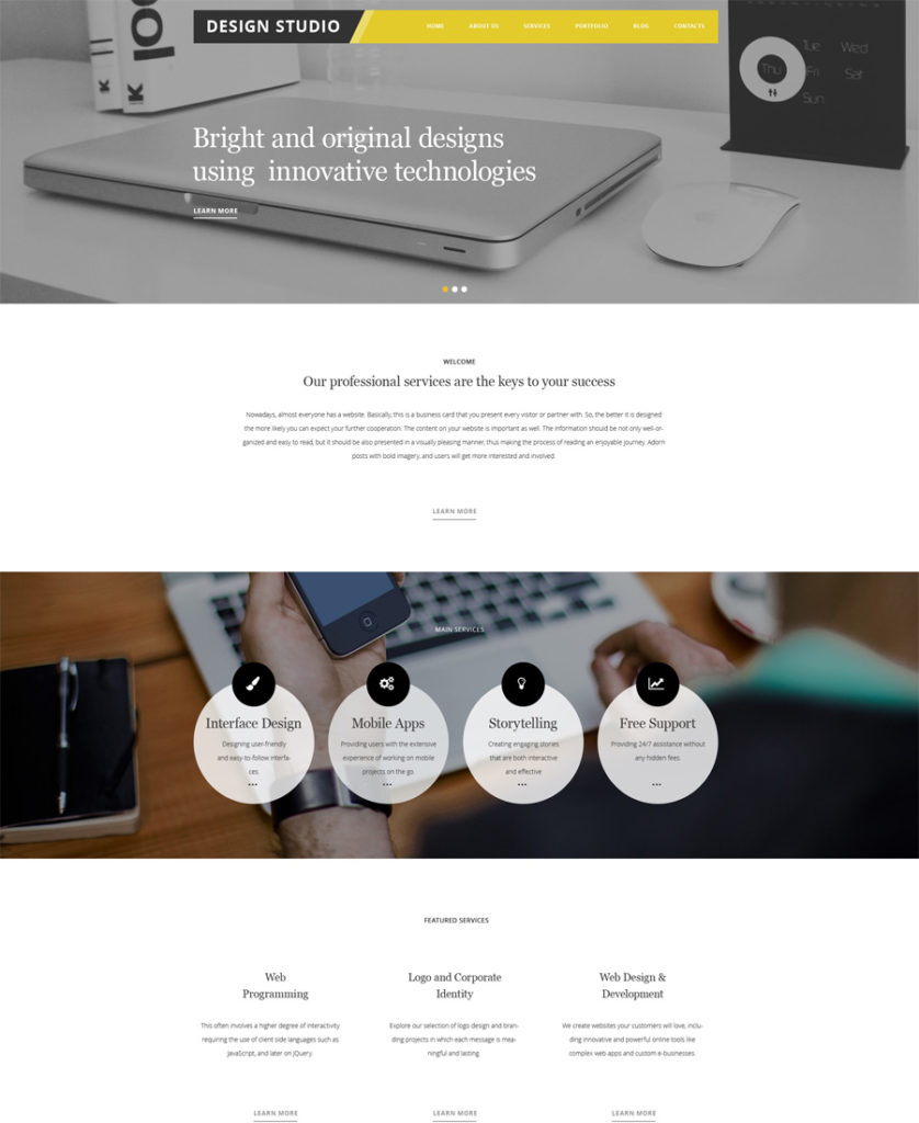 Design-Studio-WordPress-Theme