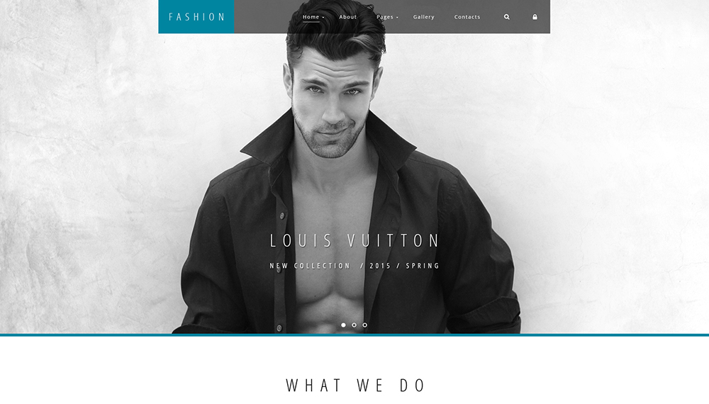 High Fashion Joomla 3 Template