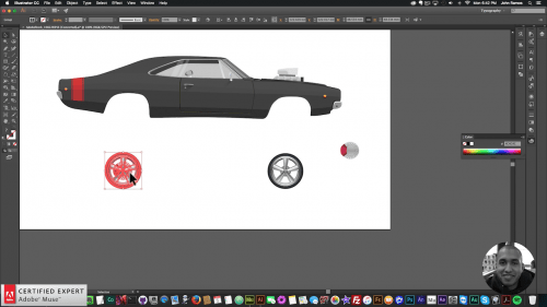 Muse For You - Animating a Moving Car in Adobe Muse - Wheels - Adobe Muse CC