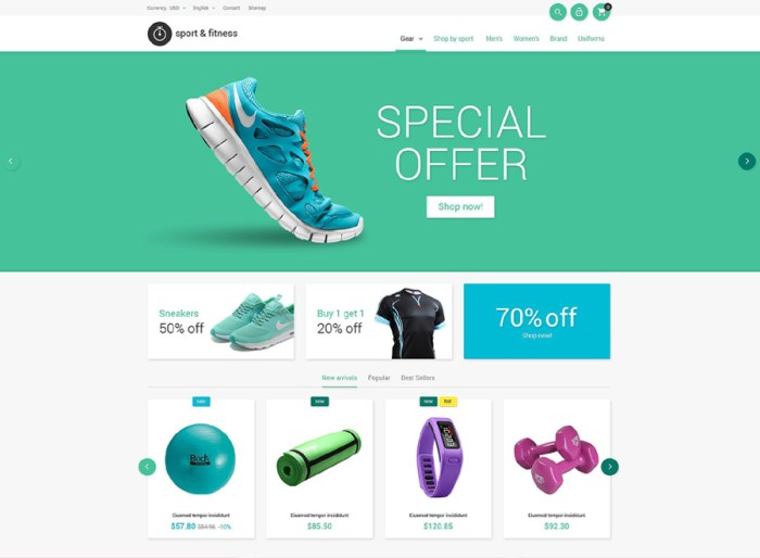 Sporting Goods PrestaShop Theme