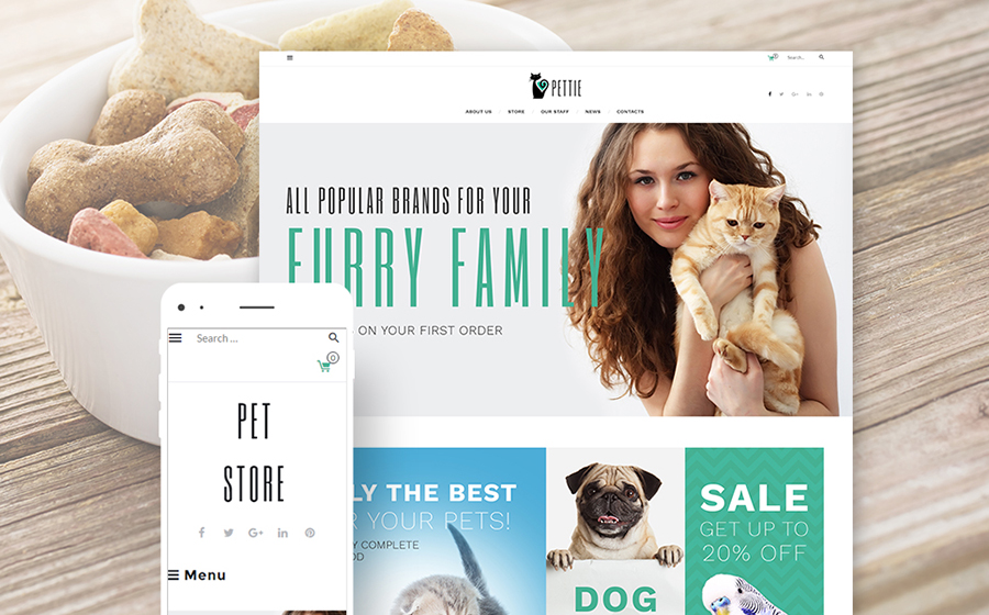 Pets Supplies WooCommerce Theme