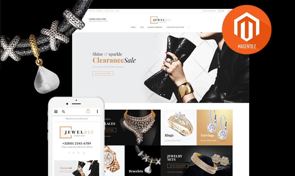 Jewelrix Magento Theme