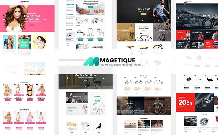 Magetique - AMP-Ready Multipurpose Magento 2 Theme