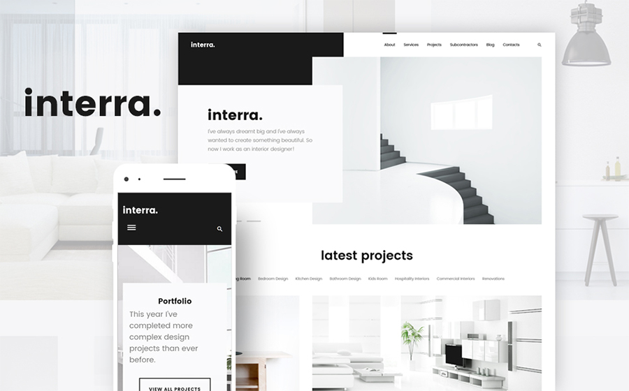 - the Best Interior Design WordPress Theme