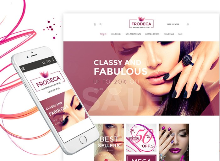 Frodeca - Manicure & Nail Supplies Responsive Magento 2 Theme