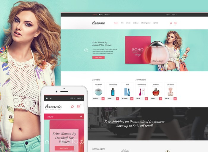 Axonnie - Perfume Store PrestaShop Theme