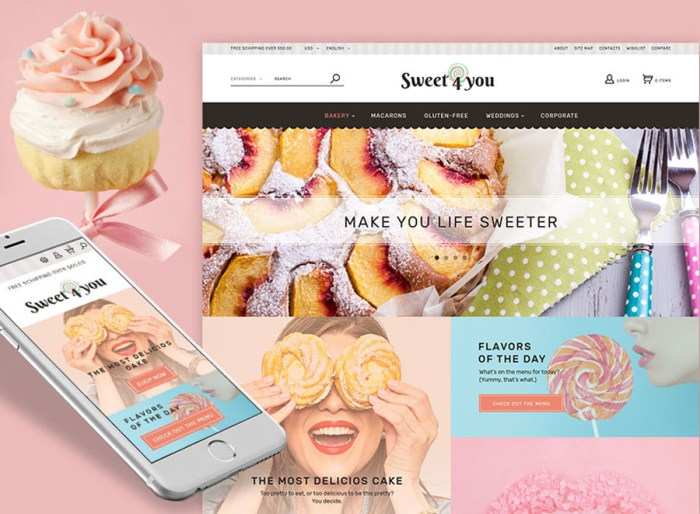 Sweet4you - Sweet Shop PrestaShop Theme