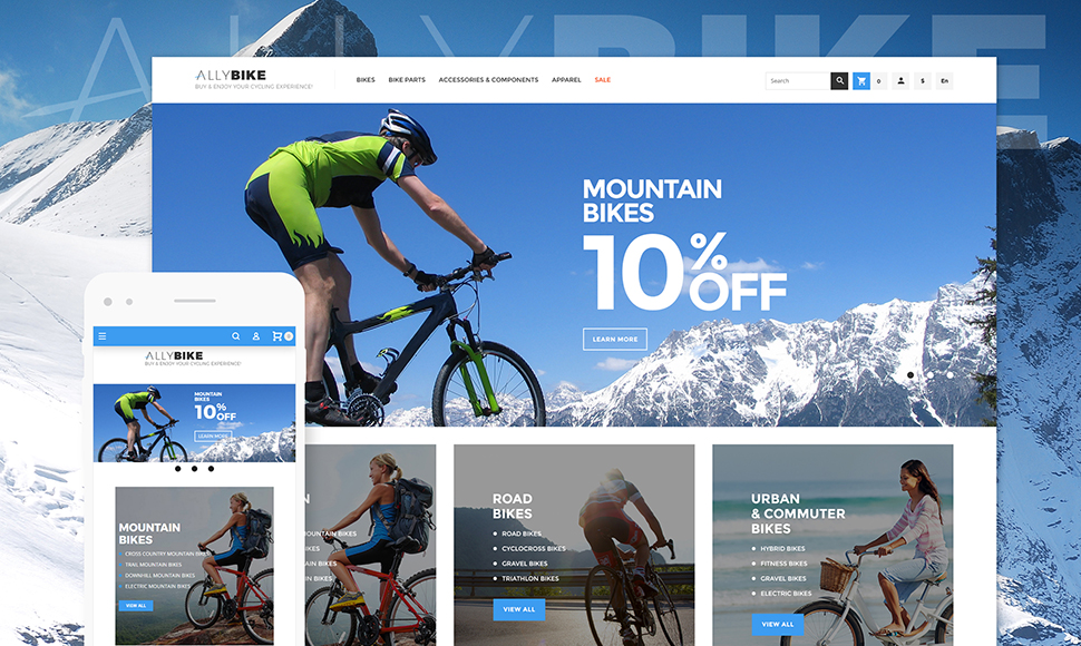 Cycling Magento 2 Theme