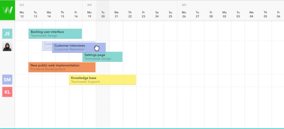 timeline for designers