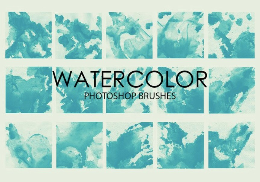 free-watercolor-wash-photoshop-brushes