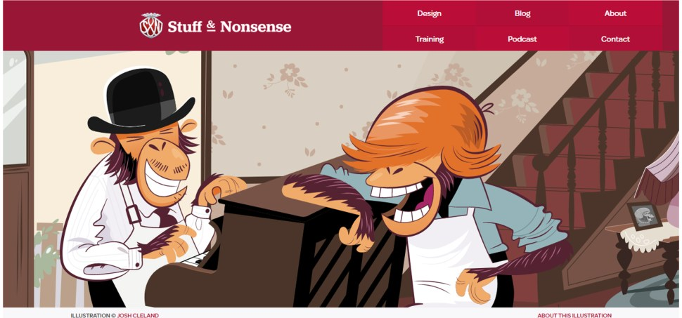 When Humour Meets Good Web Design - 25 Beautiful/Funny Websites