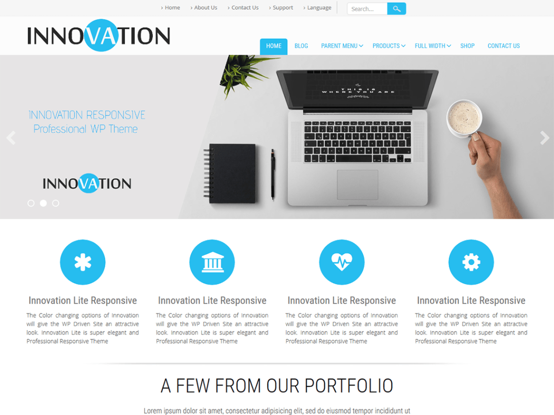 20 Free Portfolio Themes for WordPress to Download