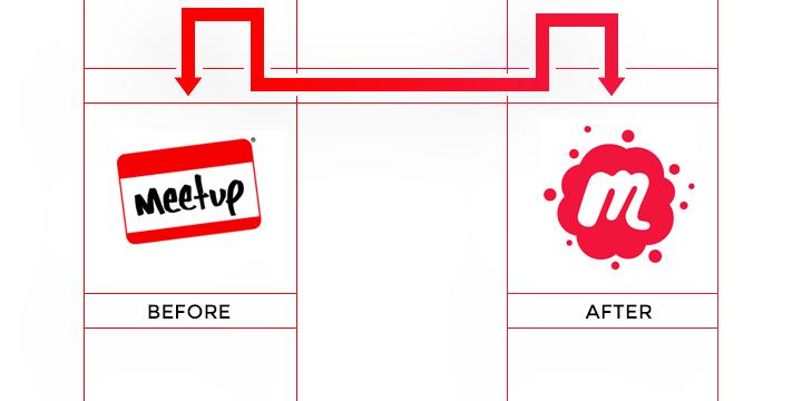 meetup logo redesign