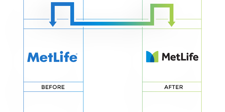 metlife logo redesign