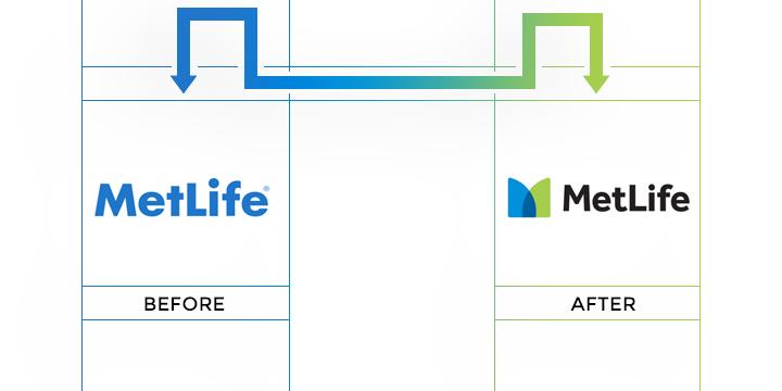 metlife logo redesign