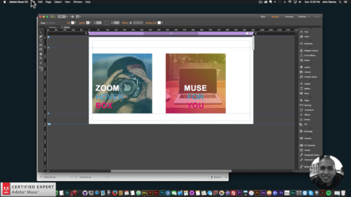 Muse For You - Zoom Hover Box Widget - Adobe Muse CC - Web Design Ledger