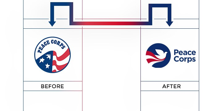 peace corps logo redesign