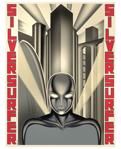 Silver surfer Poster