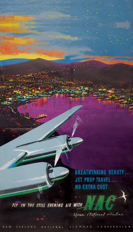 Air New Zeland Poster