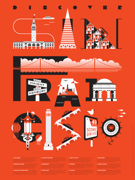 San Francisco Tourism Poster