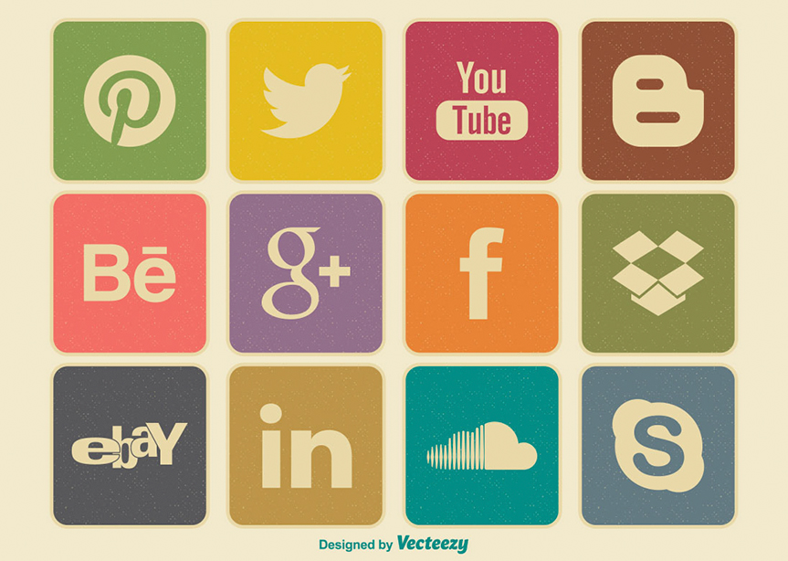 retro-style-social-media-icon-set